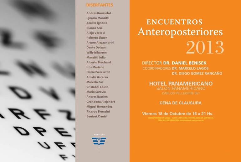 Encuentros Anteroposteriores 2013