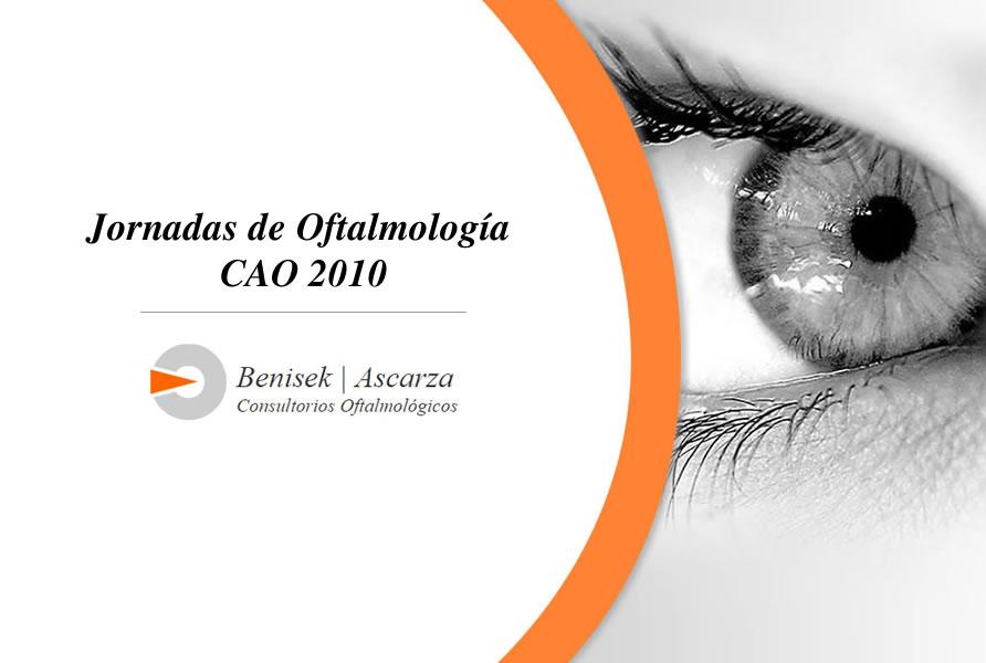 Jornadas de Oftalmología CAO 2010